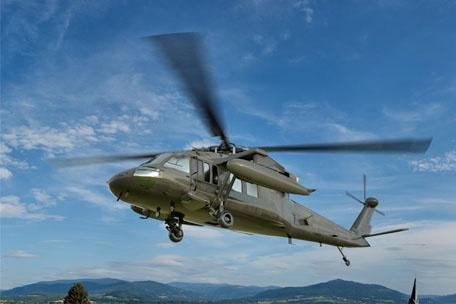 Intervention rapide sur des composants de Sikorsky Black Hawk