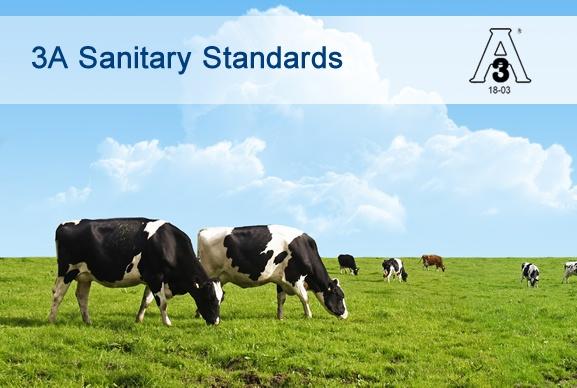 Joints sanitaires 3A 18-03 pour l'industrie laitière